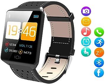 Sulida Smartwatch Reloj Inteligente Pantalla táctil de 1.3 Pulgadas Pulsera de Actividad Reloj Fitness Impermeable IP68, con Podómetro Frecuencia ...