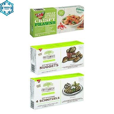 Frys Family Foods Pack de 3: GAMBAS CRUJIENTES, CHIA ...