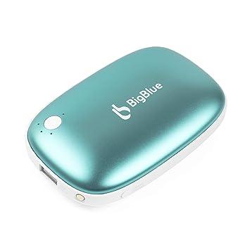 BigBlue 6000mAh Calentador de Manos (2019 Versión), USB ...