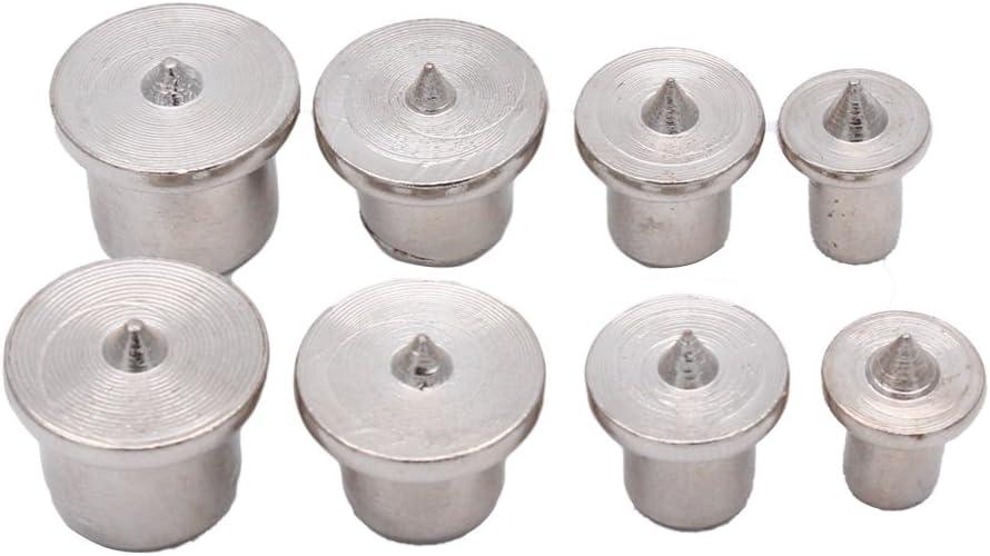 16Pcs Dowel Holes Drill Centre Point Pin Wood 6//8//10//12mm Dowel Tenon Center Set