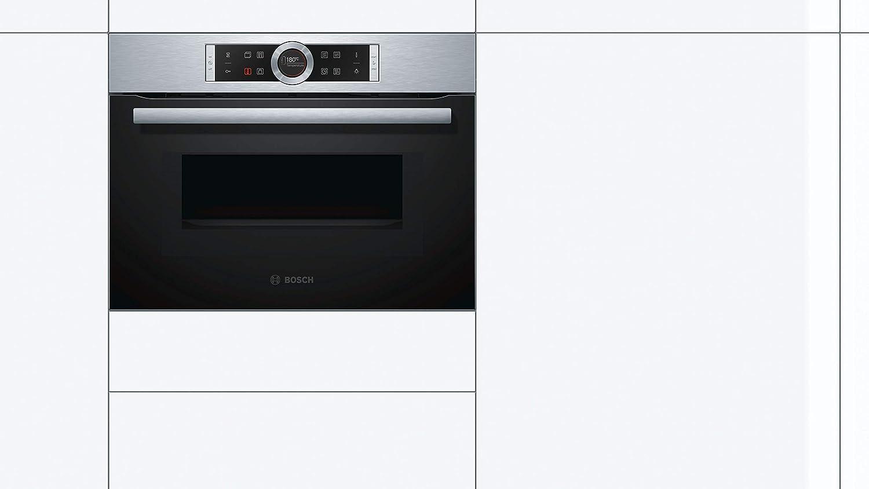 Bosch CMG633BS1 - Microondas (Integrado, 45 L, 1000 W, Tocar ...
