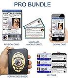 XpressID Service Dog ID PRO Bundle | Includes Registration to National Dog Registry