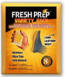 Body Hand Super Warmers Large Heating Pads with Adhesive Backing - Long Lasting Safe Natural Odorless Air Activated Warmers, 10/17 Value Packs
