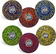 Champion Sports Premium Rhino Skin Extreme Color Dodgeballs - Glow in the Dark, Color Changing, and Spider Gri