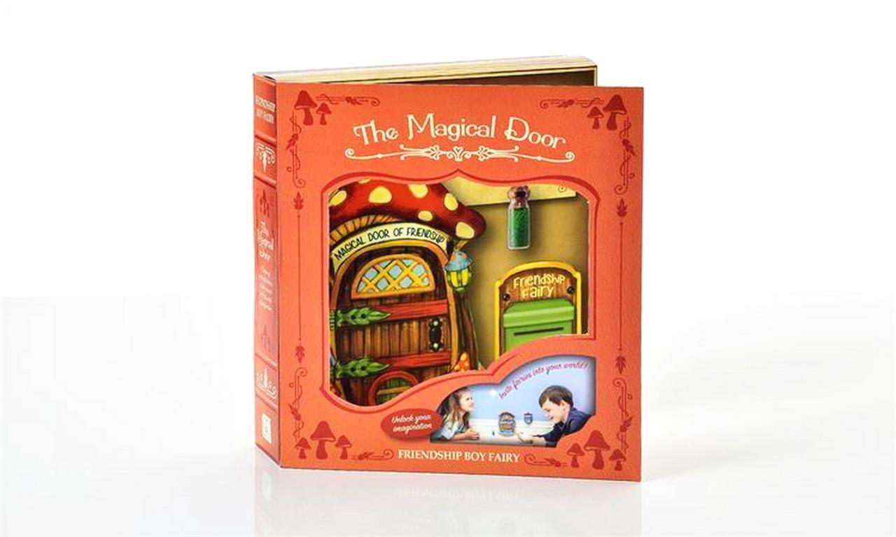 New Miniature Mini Dollhouse FAIRY GARDEN Accessories - The Magical Door - Friendship Mushroom 3PC. Gift.