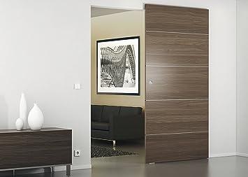 Herraje para sets Let de Juego con oculta pared de montaje para madera de puertas correderas –