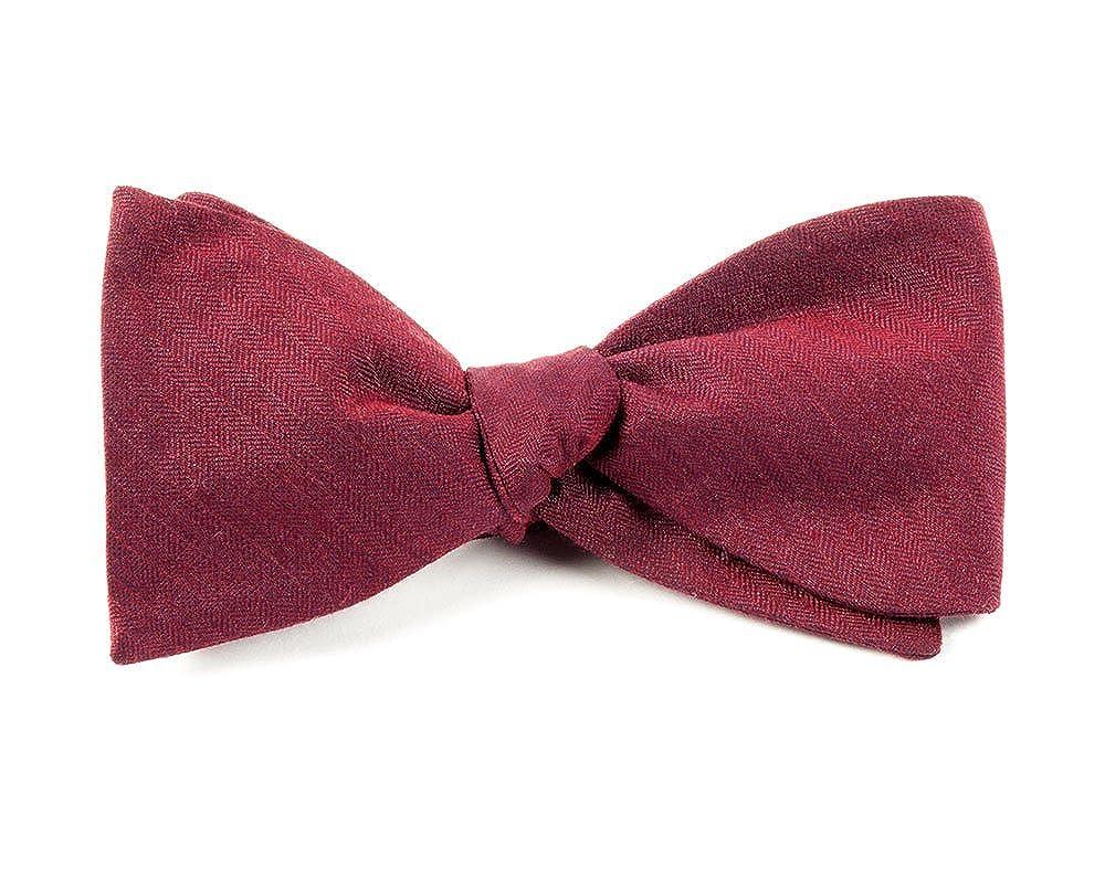 Astute Solid Wool Blend Self-Tie Bow Tie