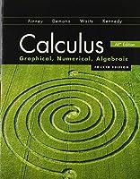 Calculus: Graphical, Numerical, Algebraic