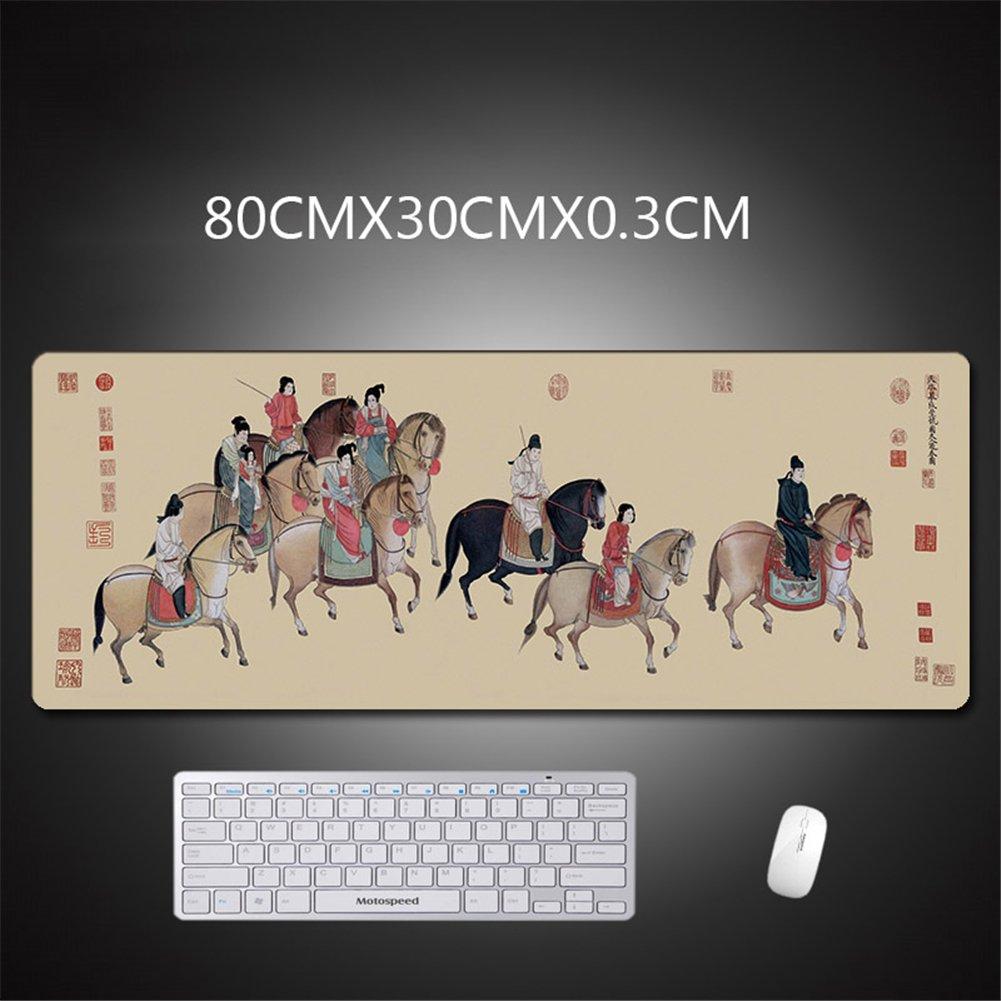 LL-COEUR XXL Ordenador Alfombrilla de Ratón Escritorio Escritorio Escritorio Grande Paisaje Mouse Mat (1200 x 600 x 3 mm, Color 1) 225625