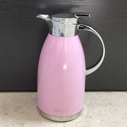 Dongyd Jarra de Aislamiento de Color Rosa Hogar Europeo Botella de ...