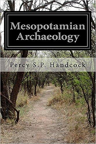 Book Mesopotamian Archaeology