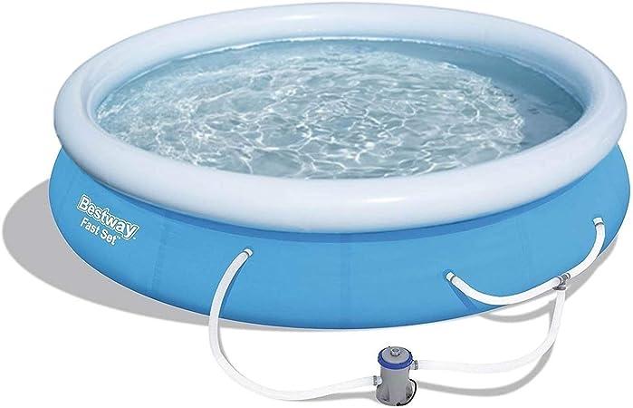 Amazon.com: Bestway - Juego de piscina hinchable sobre el ...