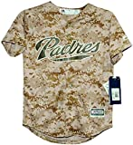 Majestic San Diego Padres USMC Camo Cool Base Infant, Toddler and Child Jerseys