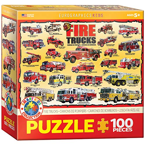 Fire Trucks 100 Piece Jigsaw Puzzle for sale  Delivered anywhere in USA