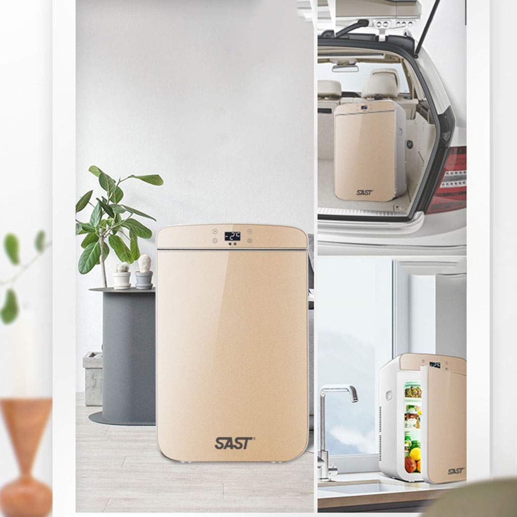 Outdoor Refrigerators Household Portable Refrigerator Insulin Refrigerator Portable Household Medicine Refrigerator Car Travel 25L (Color : Gold, Size : 332743cm) by Outdoor Refrigerators (Image #3)