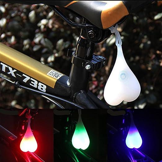 Cycling Balls Tail Silicone Light Creative Bike Waterproof Night Egg Lamp