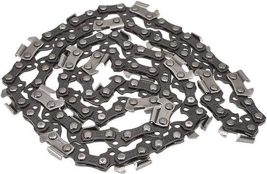 76 eslabones Cadena de repuesto para motosierra de cadena de motosierra 50,8 cm