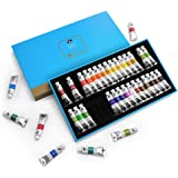 Paul Rubens Caroline Watercolor Tube, 36 Colors x 5ml Tubes Watercolor Paint Set with a Storage Box, Rich Pigments…