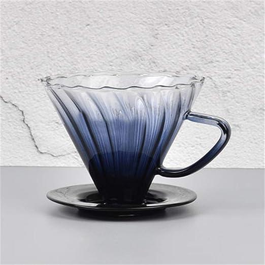 COKFEB Filtro de café Recién Llegado Filtro de cafetera de Vidrio ...