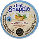 Snapple Diet Peach Iced Tea, 22 Count