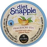 Best Tea For Ice Teas - Snapple Diet Peach Iced Tea, 22 Count Review