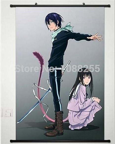 Amazon Com Anime Family Home Decor Anime Japanese Poster Wall Scroll Hot Noragami Yato Hiyori Iki Art Posters Prints