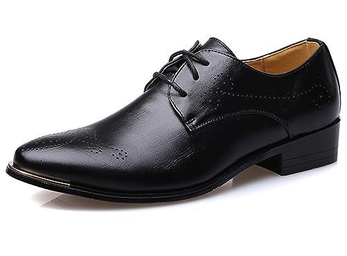 Amazon Santimon Mens Dress Shoes Classic Modern Comfort Lace