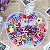 XENO-DIY Bracelet Plastic Acrylic Bead Kit Accessories Girl Kids Jewelry Making Toys