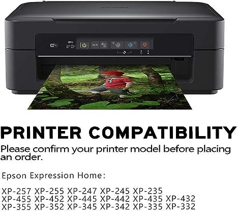 YUUSHA 29XL Pack de 10 Cartucho de Tinta Compatible EPSON 29 29XL ...