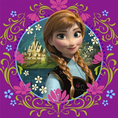 Disney Frozen - Purple Lunch Napkins (16) ()