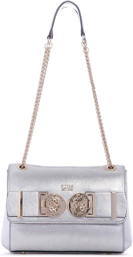 Guess Convertible Carina Sac bandoulière Bag Silver SILVER