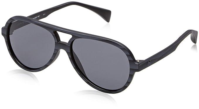 d44fc3111c Image Unavailable. Image not available for. Color  Saint Laurent SL156 001  Black SL156 Square Sunglasses ...