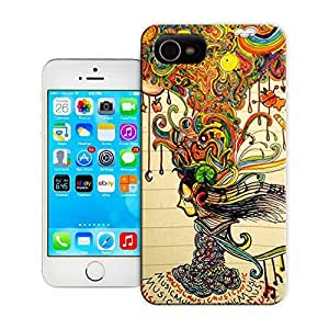 Unique Phone Case Abstract painting music mah life Hard Cover for iPhone 4/4s cases-buythecase by lolosakes