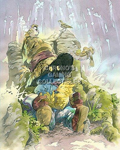 CGC Huge Poster - Final Fantasy IX Vivi PS1 PS2 PS3 PSP Vita