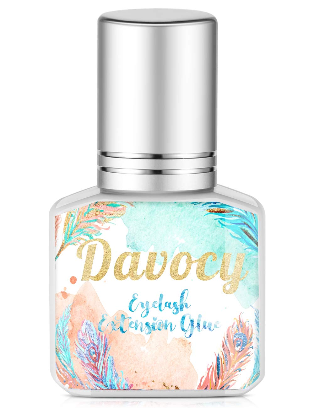 Davocy Eyelash Extension Glue - Best Eyelash Glue For Sensitive Eyes