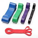 TheFellie Resistance Bands, Pull Up Assist Bands, Professional Loop Stretching Exercise Bands for Powerlifting,Body Stretching and Resistance Training