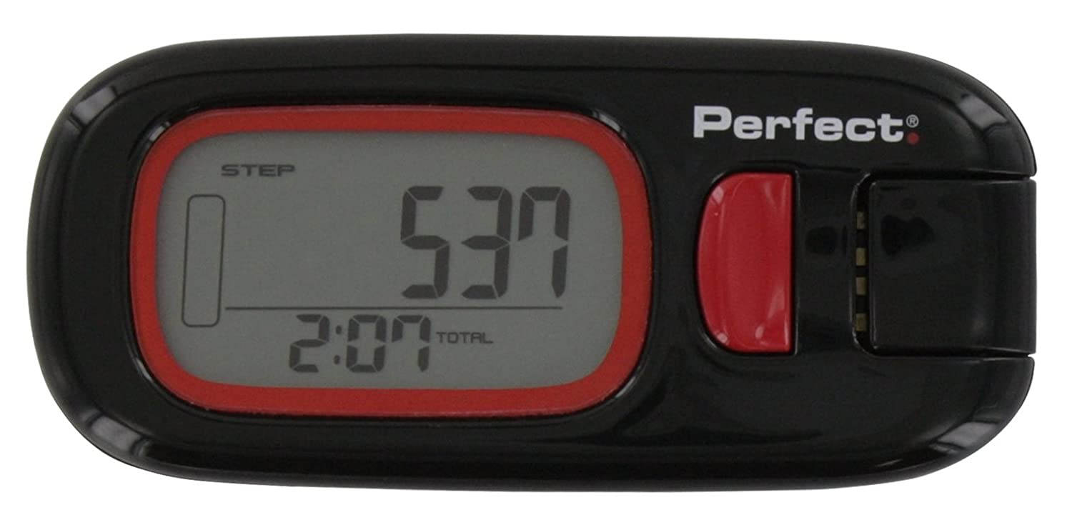 Perfect Fitness Active Pedometer Step Counter