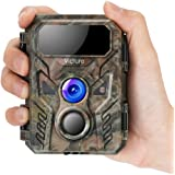 Victure Mini Trail Game Camera 16MP 1080P with Advanced Night Vision Motion Activated IP66 Waterproof for Hunting Games and W