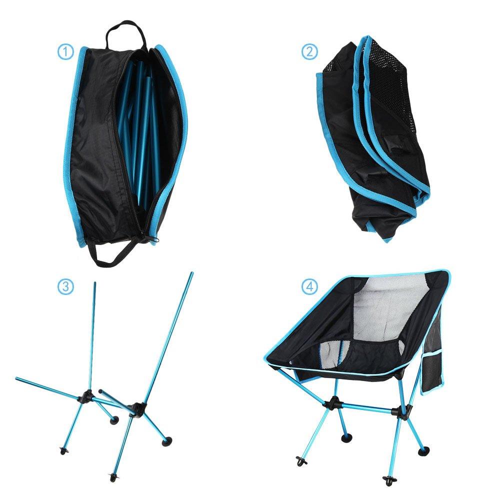 Braccioli 10t Lightchair Da Sedia Campeggio Pieghevole Alluminio Con CoWrxdeQB
