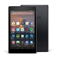 """Fire HD 8 Tablet with Alexa, 8"""" HD Display, 32 GB, Marine Blue - with Special Offers (Previous Generation - 7th)"""