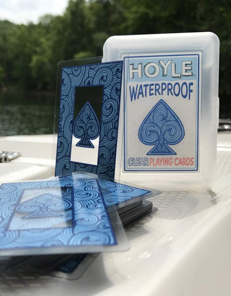2Pack Grip Playing cards 100/% Plastic water proof and durable!
