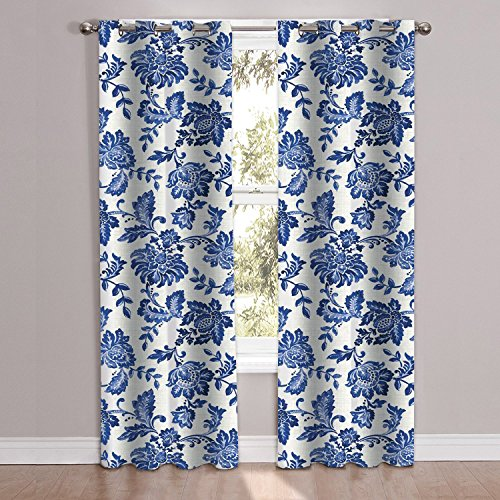 unique stylish navy floral pattern