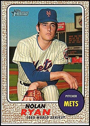 - 2017 Topps Heritage High Numbers Ryan Highlights #NRH-2 Nolan Ryan New York Mets Baseball Card