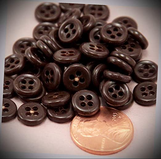 """Crafts 27mm Pkg of 10 SHEEP 2-hole White Wood Buttons 1-1//16/"""" x 3//4/"""" 9065"""