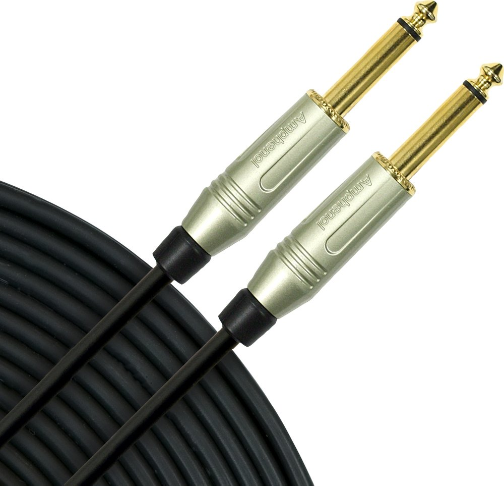 Mogami Silver Series 1/4'' Straight Instrument Cable 12 ft.