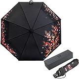 ドイツ(boy) 日傘 レディース 折りたたみ傘 二重生地 折り畳み日傘 完全遮光遮熱 UVカット率99% 紫外線対策 晴雨兼用 日焼け防止