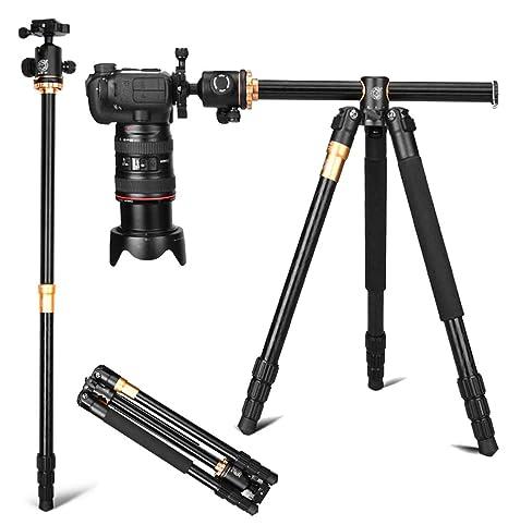 ZIHENGUO Q999H Trípode para cámara Profesional, 61 Pulgadas ...