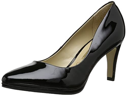 b730d12a0975 Buffalo London ZS 2815 PATENT 150938 Damen Pumps, Schwarz (BLACK 01), EU