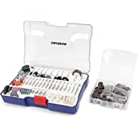 WORKPRO 295-piece Compact Rotary Tool Accessories Kit Universal for Major Brands
