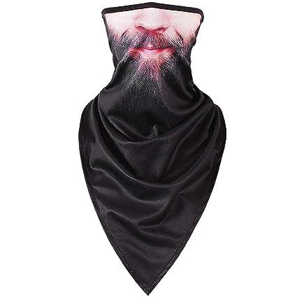 2e2d5b88dfc Amazon.com  Haluoo Multifunctional Headwear Head Wrap